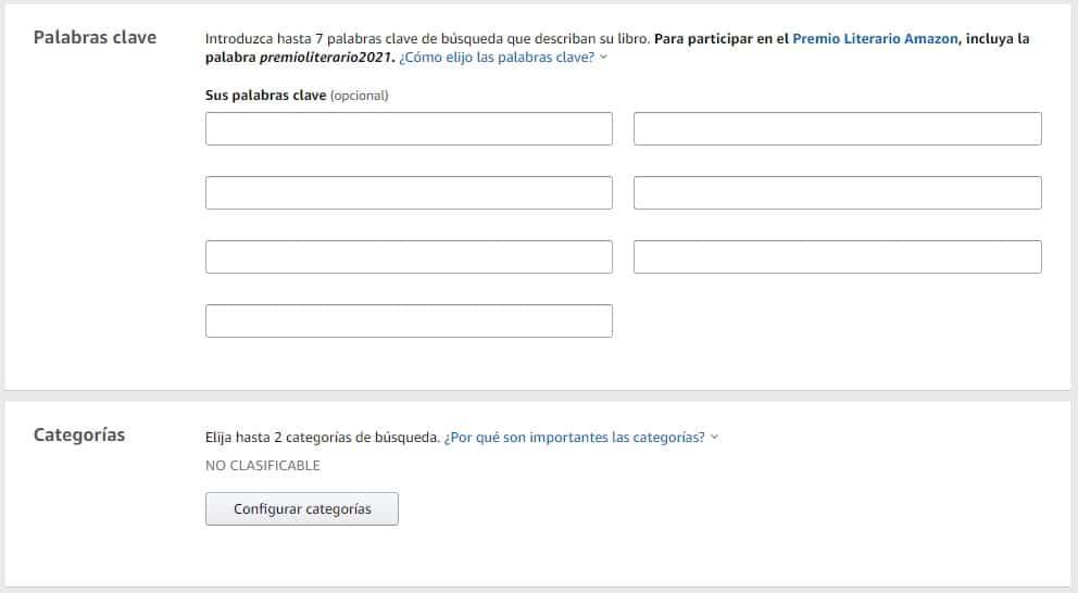 Com triar les paraules clau i les categories per a un llibre a Amazon KDP
