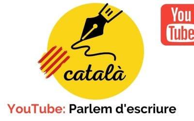 Canal de YouTube en català | Parlem d'escriure en català